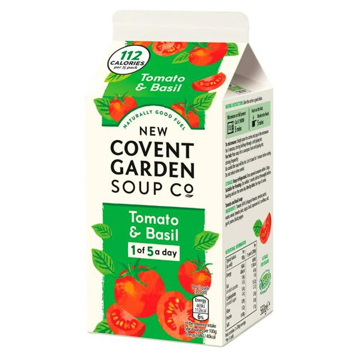 New Covent Garden Soup 560G - 8 Flavours 90p Each - Clubcard Price