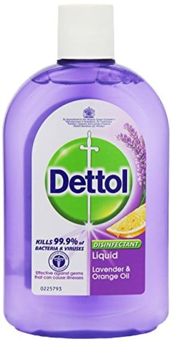Dettol Disinfectant Liquid Lavender and Orange 500 Ml