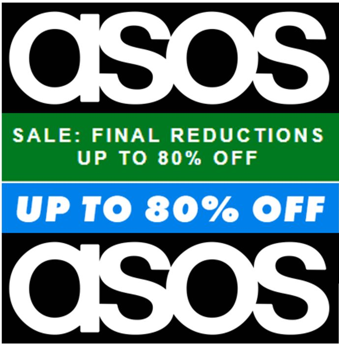 ASOS SALE - Final Reductions - up to 80% Off