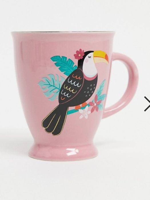 Sass and Belle Toucan Tropical Mug