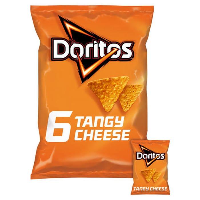 Doritos Tangy Cheese Multipack Tortilla Chips 6x30g