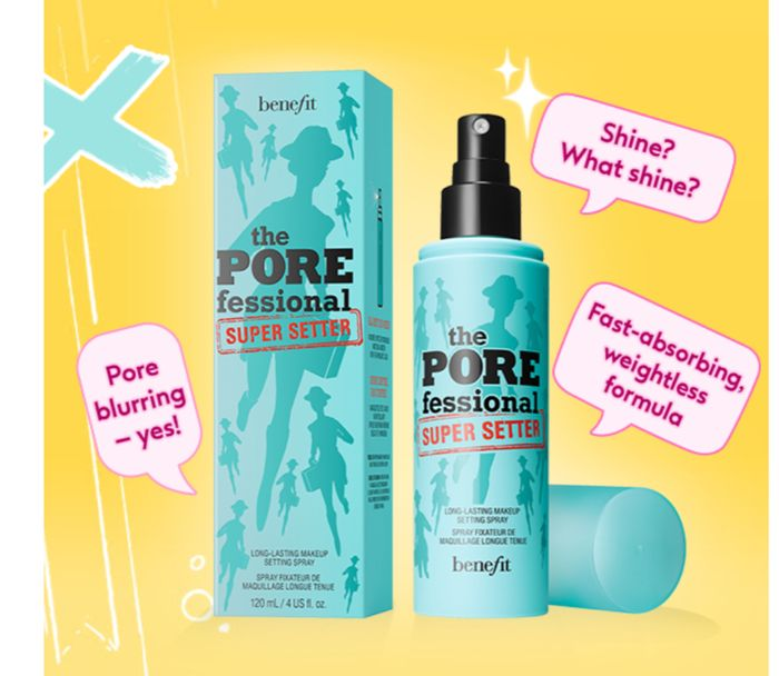 FREE GIFT WHEN YOU BUY Benefit Porefessional Super Setter Spray