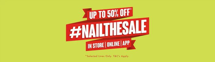 Huge January Sale at Matalan! Prices from 50p!