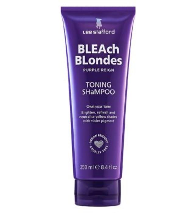 Lee Stafford Bleach Blondes Purple Reign Toning Shampoo 250ml