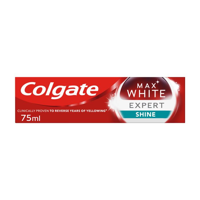 Colgate Max Gloss Mint Whitening Toothpaste *Reverses Years Of Yellow Stains