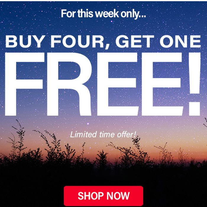 Buy Four Products & Get The Cheapest Free
