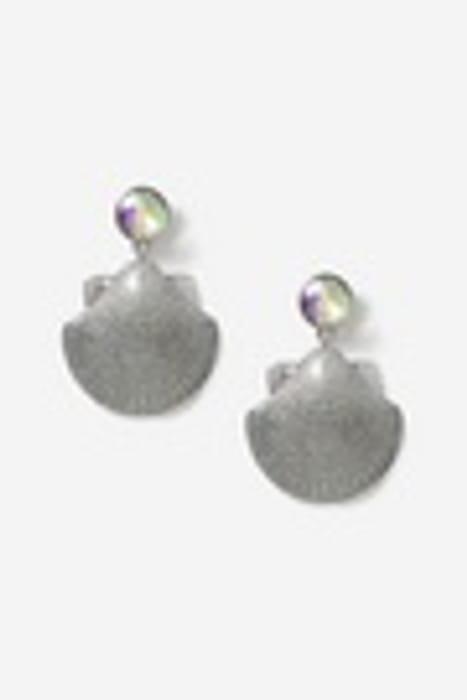 Christmas Glitter Shell Earrings