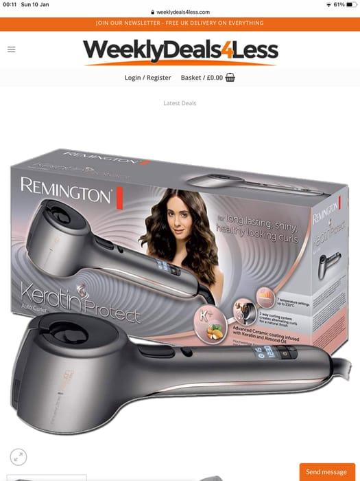 Remington Keratin Protect Auto Curler