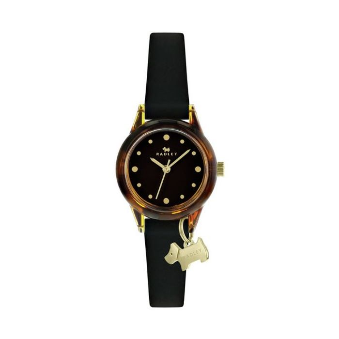 1\2 Price ! Radley Brown Silicone Strap Watch & 2 Year Guarantee