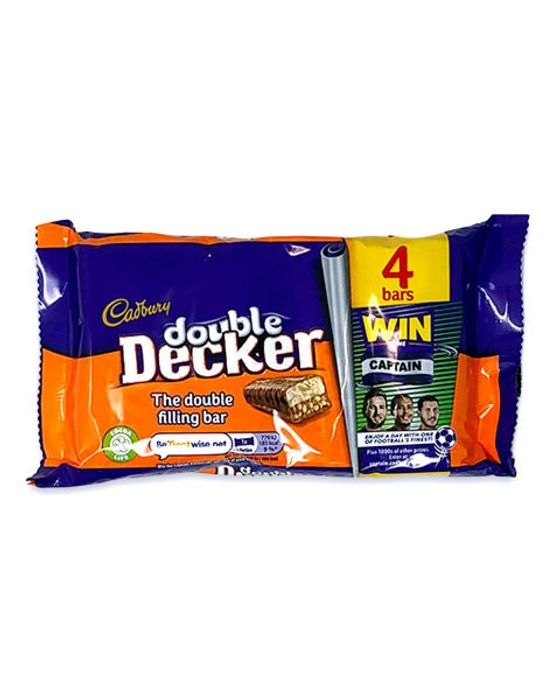 Double Decker Chocolate Bar 4pk