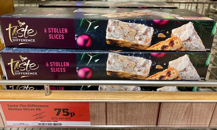 6 Stollen Slices only 75p