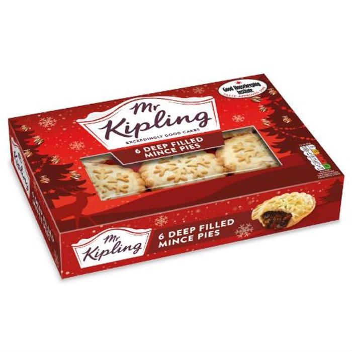 Mr Kipling Mince Pies (6 Pack)