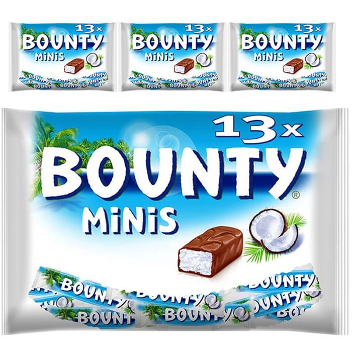 52 X Bounty Original Minis 31g Chocolate Bars