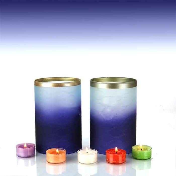 2 X Yankee Candle Twilight Dusk Multi Tea Light Holders