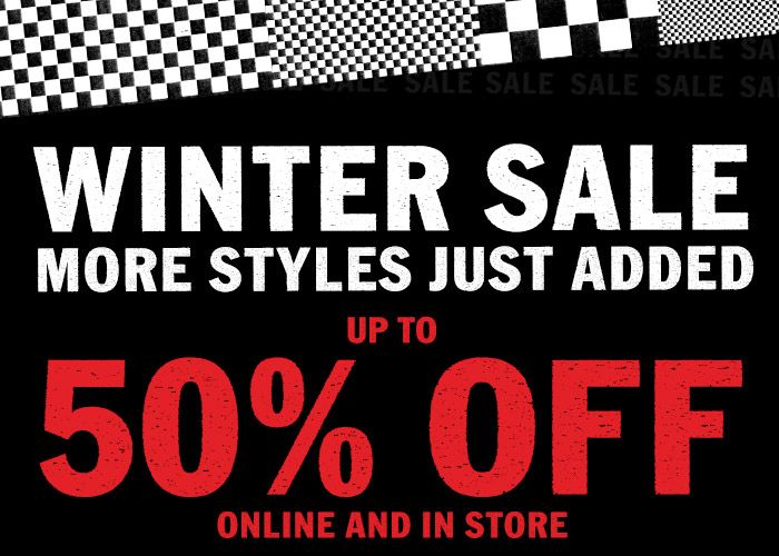 VANS Up To 50% Sale + Extra 10% Code Inc The Simpsons + Free Delivery!