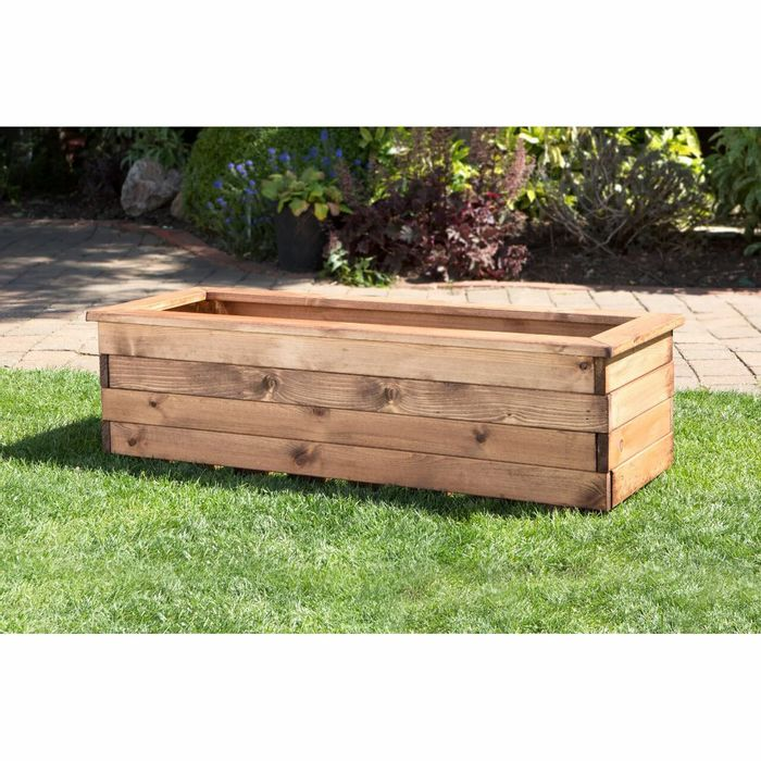 Charles Taylor Wooden Trough Planter XL