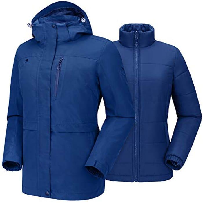 CAMEL CROWN Womens Jacket Waterproof - Only £24.9!