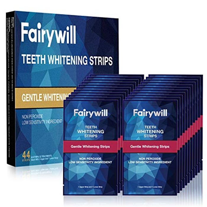 Teeth Whitening Strips 44 Pack - Only £8.49 (Prime Delivery)