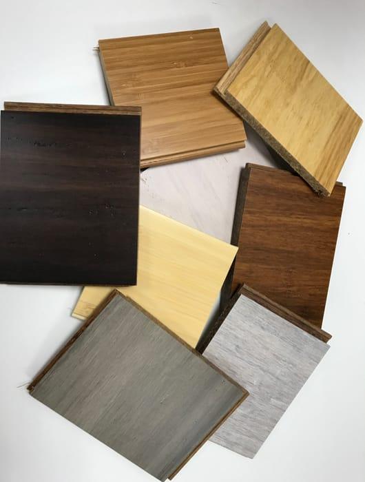 Free Bamboo Flooring Samples.