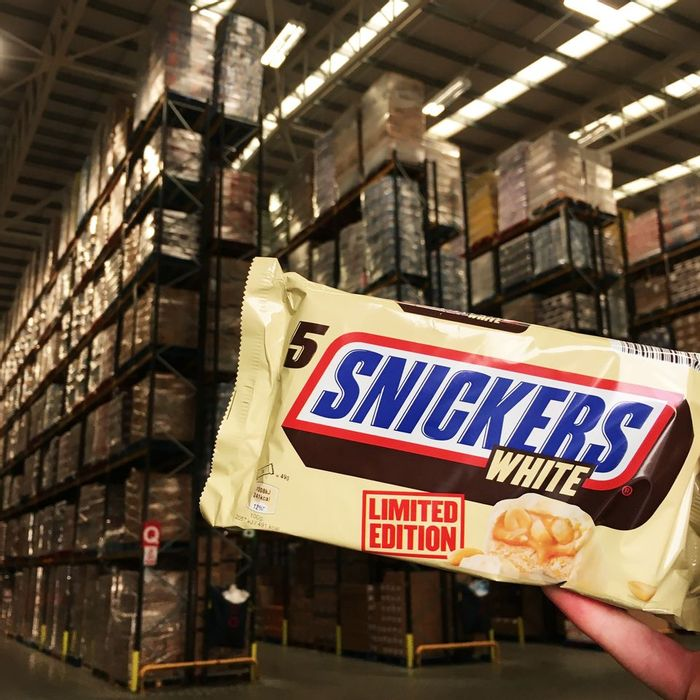 5 Pack of Limited Edition White Chocolate Snickers