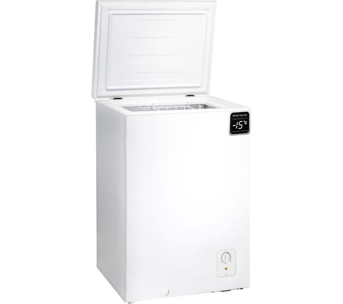 Essentials 95Ltr Chest Freezer In White - Only £99.99