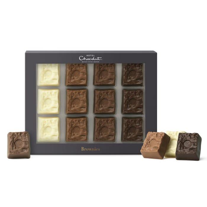 Hotel Chocolat the Brownie Box