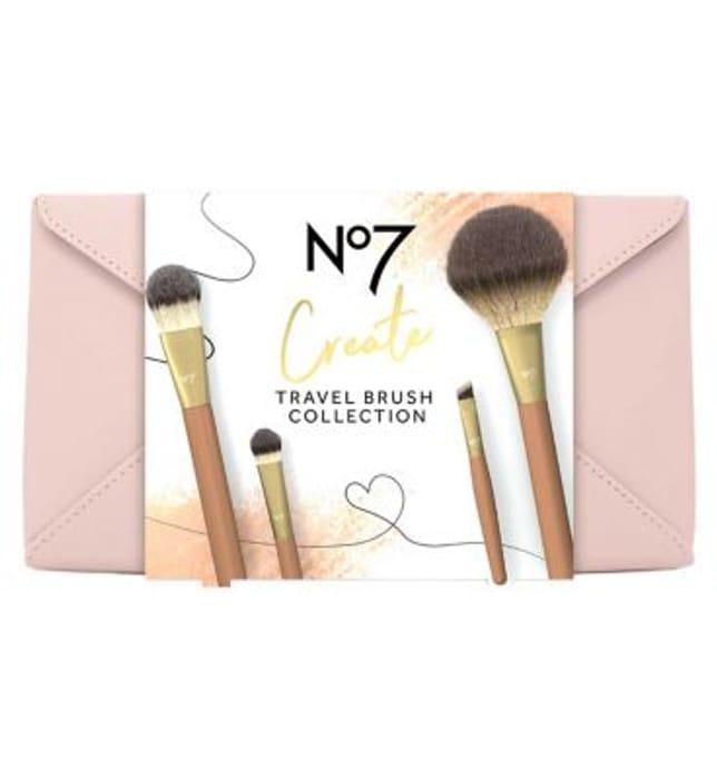 No 7 Travel Brush Gift Set Online Only