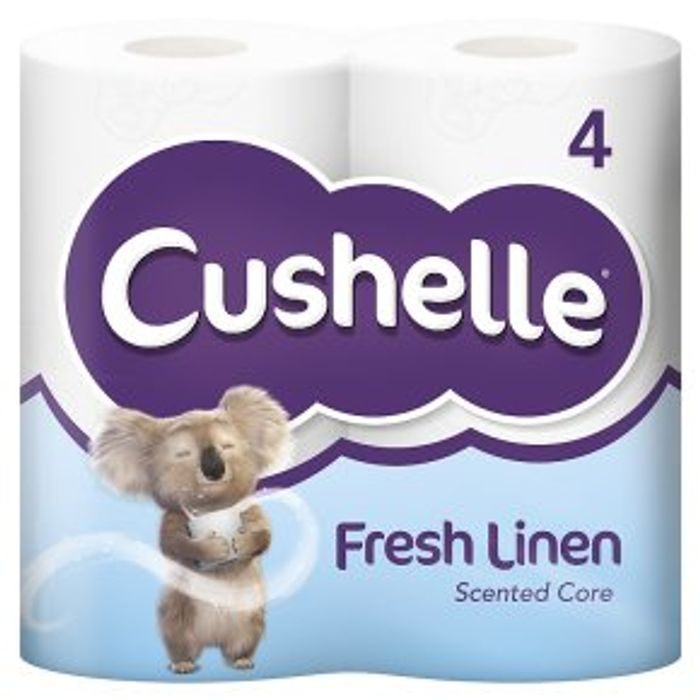 Cushelle Fresh Linen Toilet Rolls