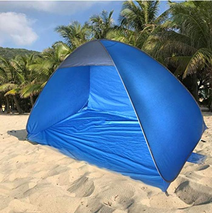 The Magic Toy Shop Pop up 2 Man Beach Tent FREE DELIVERY