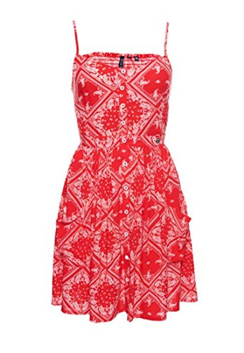 Superdry Women's Amelie Cami Dress - Red Size S
