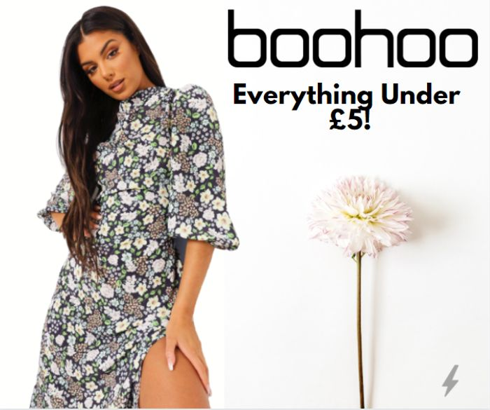 boohoo - EVERYTHING Under £5 - Prices From 20p / Up To 97% Off!