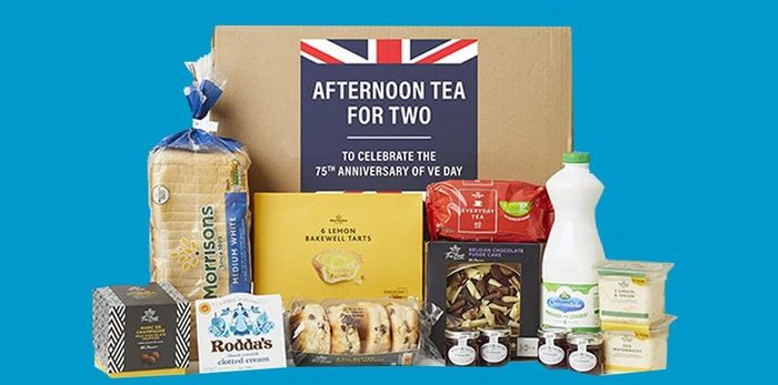 Morrisons Afternoon Tea Box £13 Delivered with Code - Free Delivery