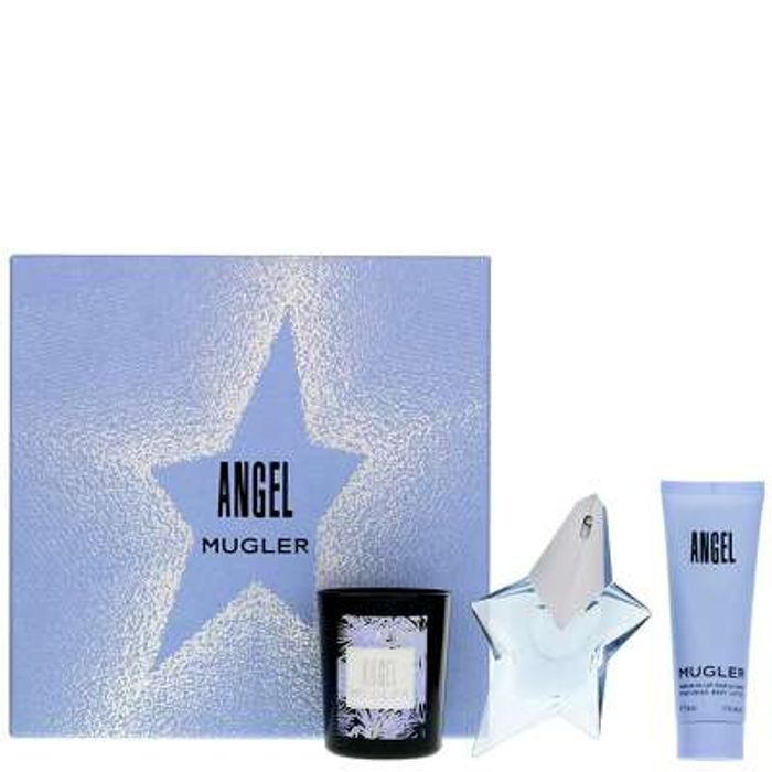 MUGLER Angel Eau De Parfum Spray 25ml Gift Set - Only £30.15!