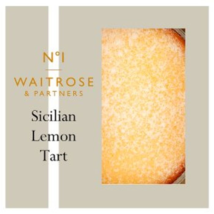 No.1 Sicilian Lemon Tart - Only £3.33!