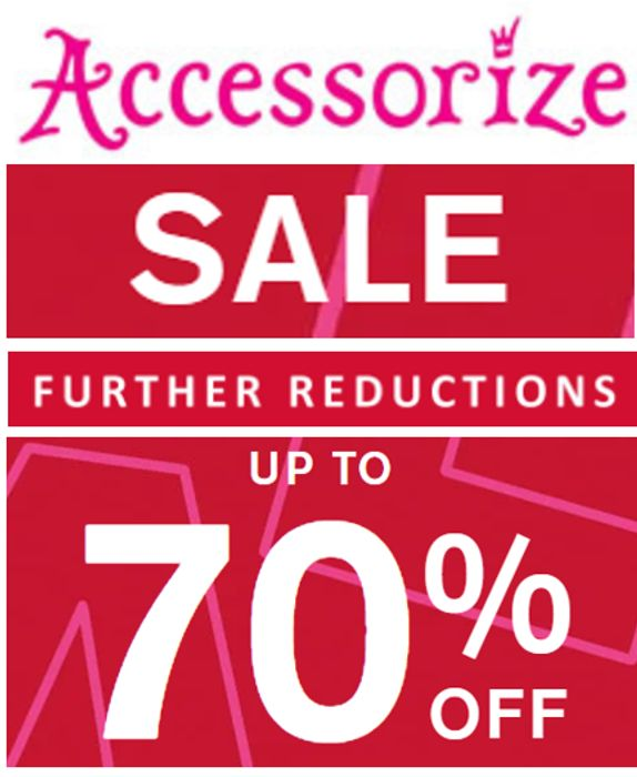 Accessorize Sale - FURTHER REDUCTIONS - up to 70% off NOW!