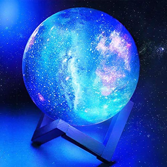 Toyuugo Moon Lamp 3D LED Moon Night Light Lamp