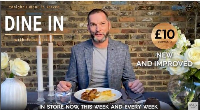 Marks & Spencer Dine in for £10 - New Improved Menu