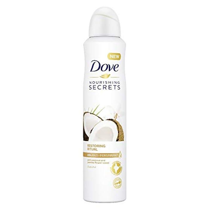 Dove Nourishing Secrets Coconut and Jasmine Flower Anti-Perspirant 250ml