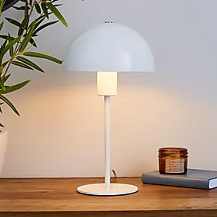 Jamiela White Table Lamp