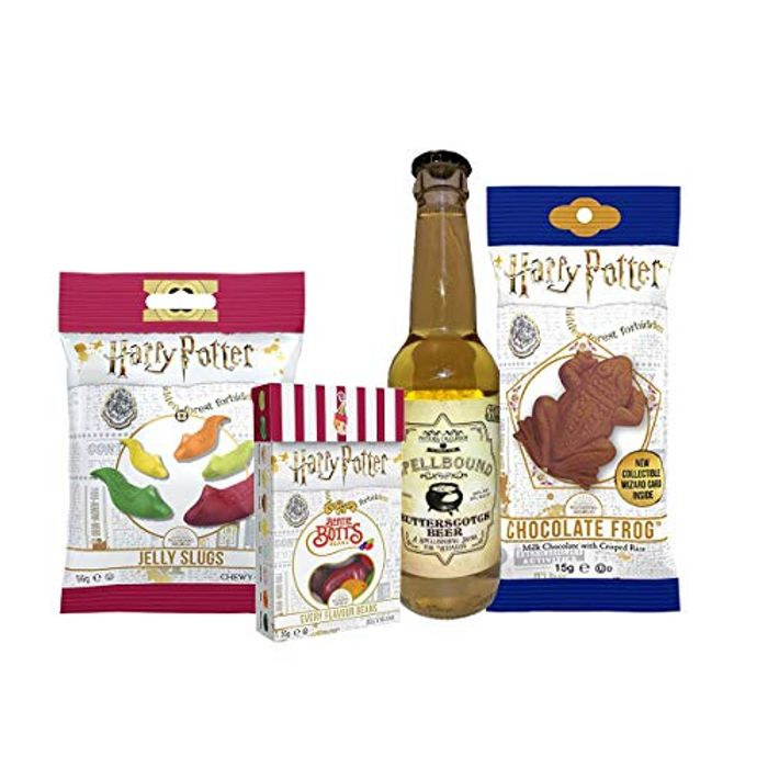 Harry Potter Sweets and Butterscotch Beer Selection