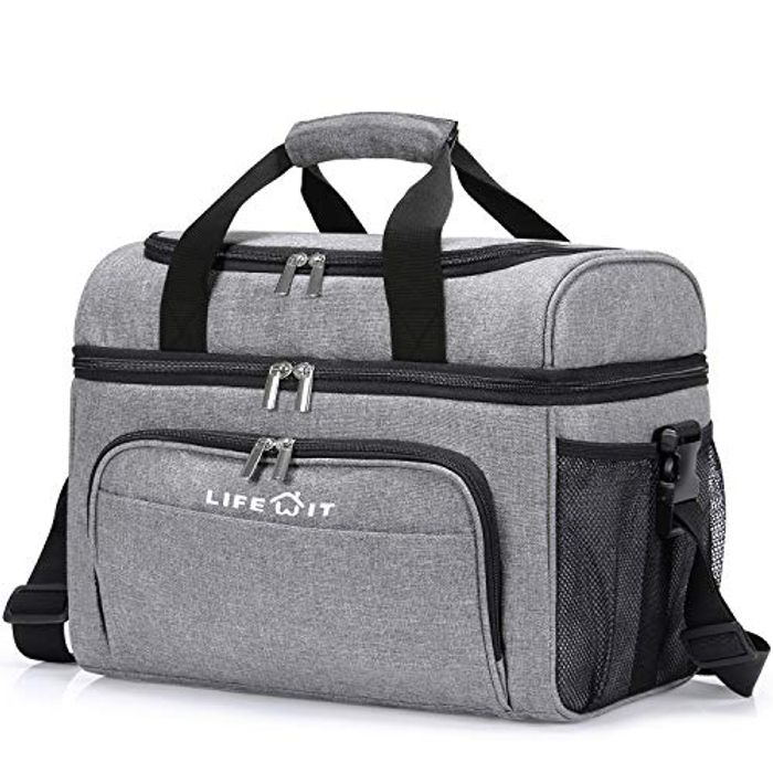 Cooler Bag Insulated 32-Can Large Shopping Bag, 23L - 50% Voucher
