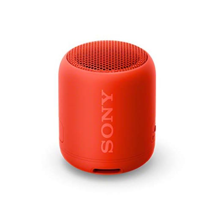 BEST EVER PRICE Sony SRS-XB12, Compact & Portable Waterproof Wireless Speaker