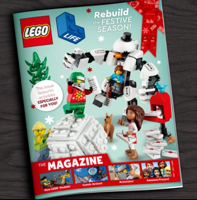 Free LEGO Life Magazine (4x per Year)