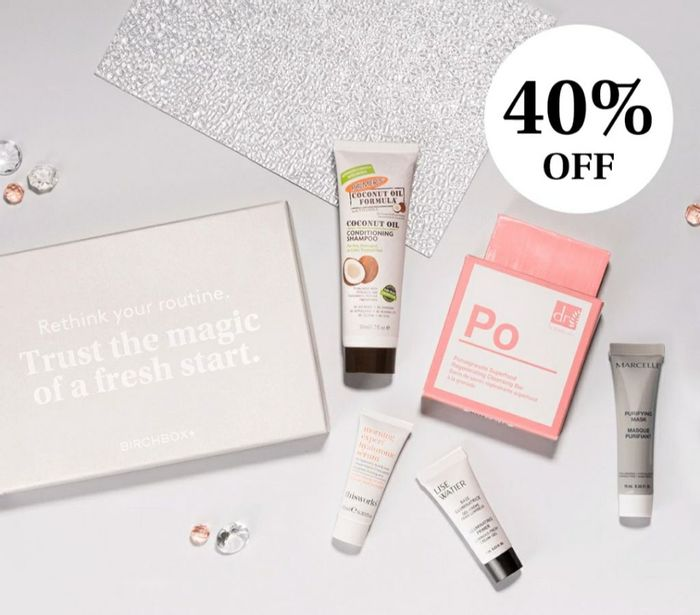 40% off a Subscription to Birchbox