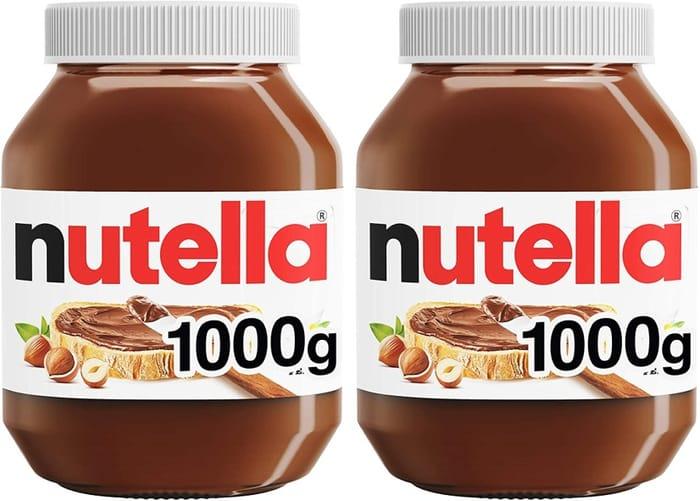 Nutella Hazelnut Chocolate Spread, 2 X 1kg