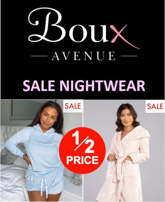 Boux Avenue SALE NIGHTWEAR - Lots at Half Price!