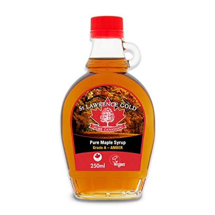 St Lawrence Gold Pure Canadian Amber Maple Syrup, 250 Ml (Free Prime Delivery)