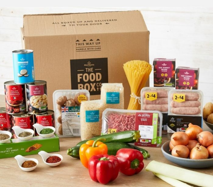 Morrisons 5 Meals to Feed a Family of 4 Box - Only £24 Delivered