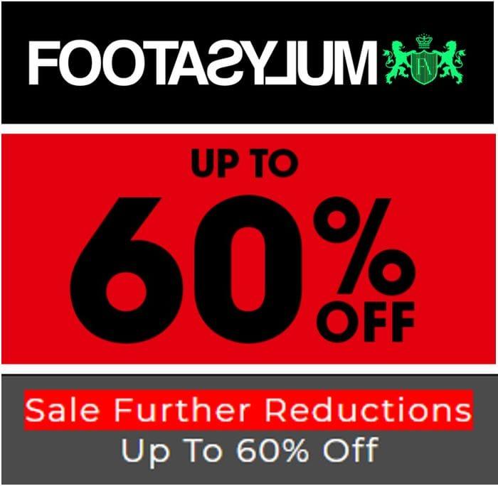 FOOTASYLUM SALE - up to 60% off NIKE, Converse, Adidas, Vans, New Balance