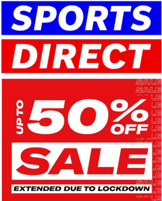 Sports Direct Sale - up to 50% OFF